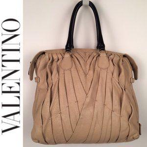 Valentino Garavani Maison Pintucked Shopper